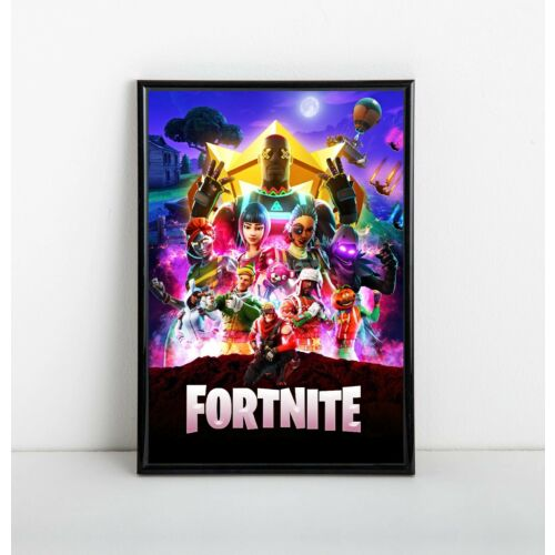 FORTNITE Battle Royale Poster Wall Art - Avengers Parody -  11x17 13x19
