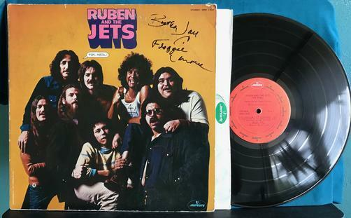Ruben And The Jets For Real 1973 Signed Mercury Lp Froggie