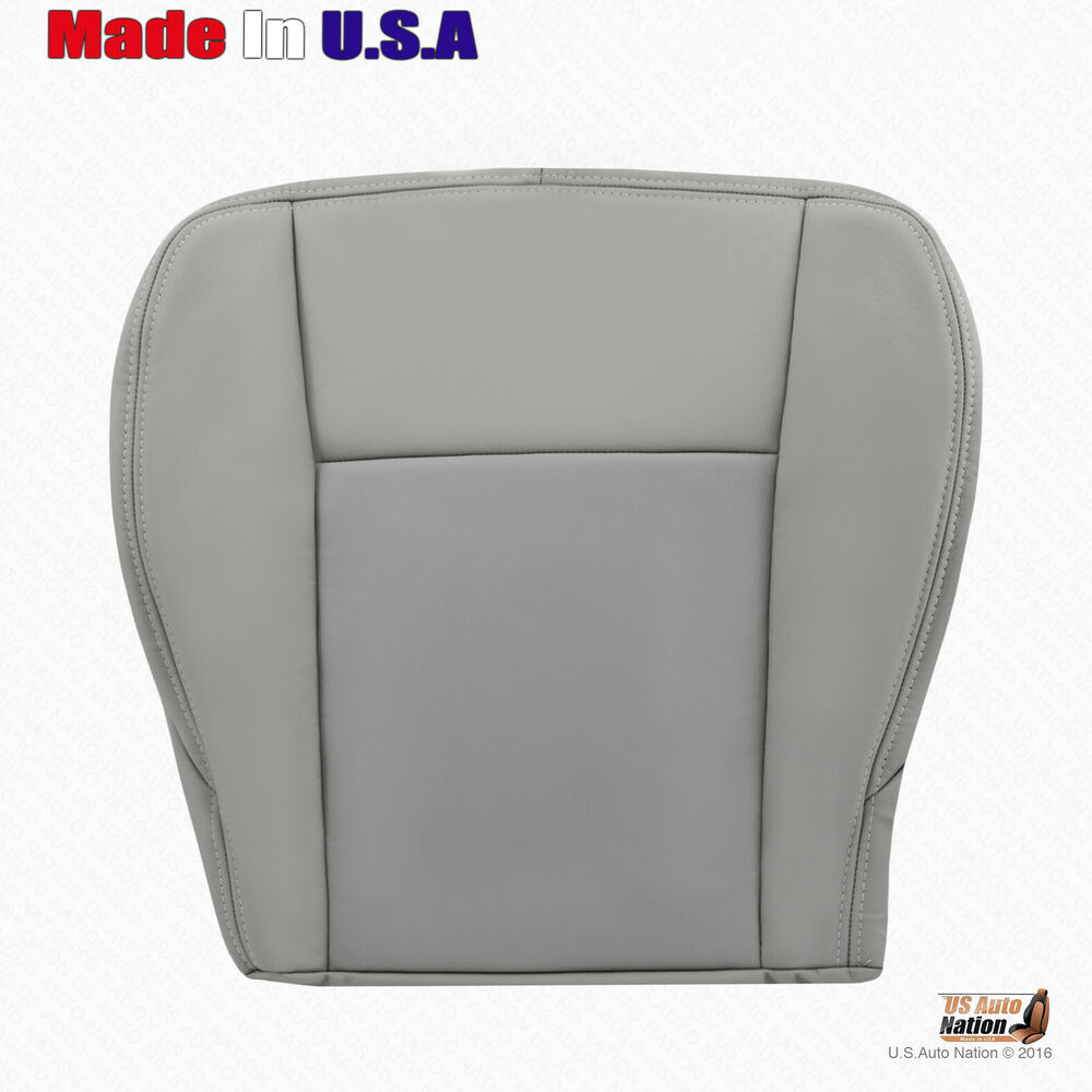 Passenger Bottom Gray Leather Seat Cover 2003 2004 2005