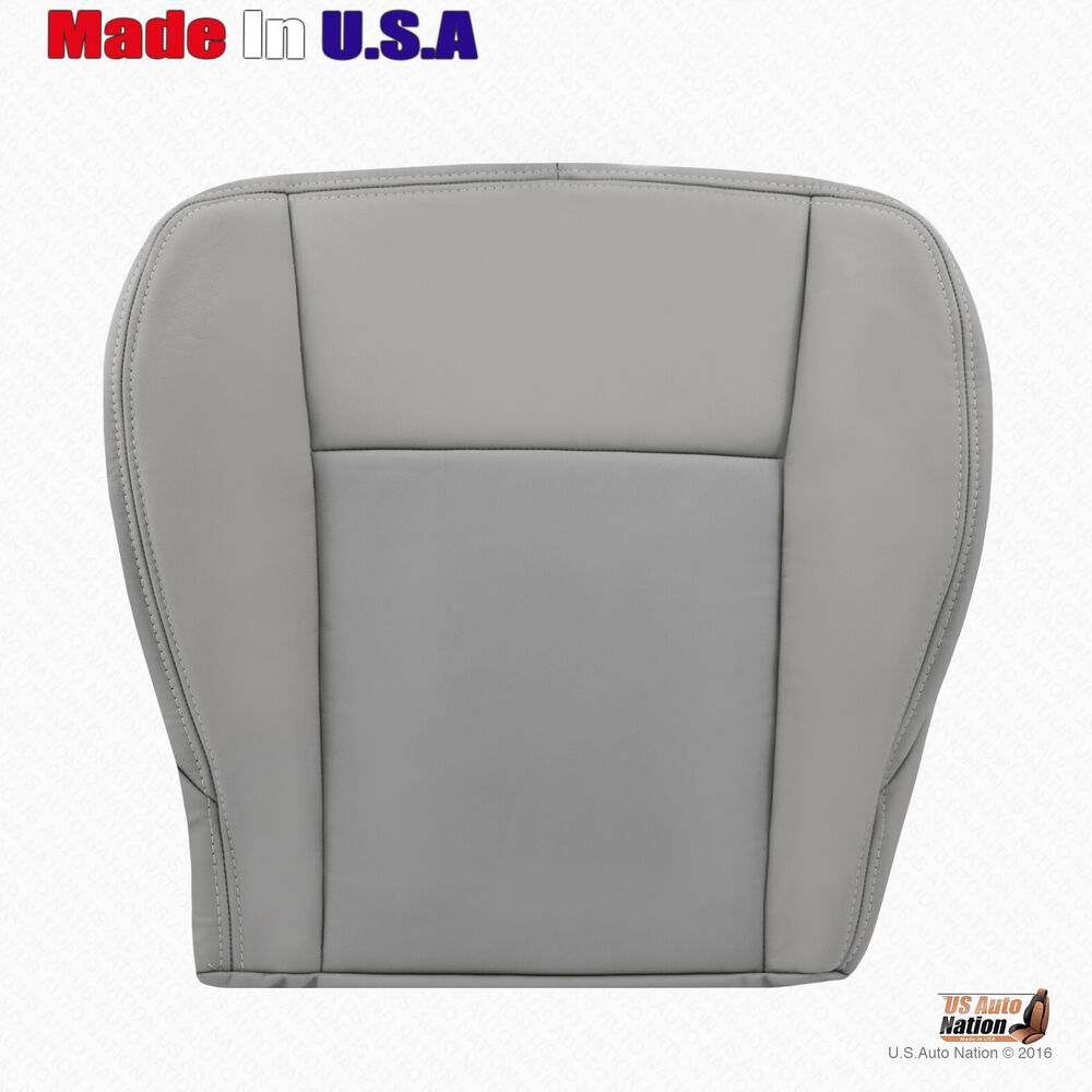 Fits 2003 2004 Cadillac CTS Gray Replacement Leather Seat