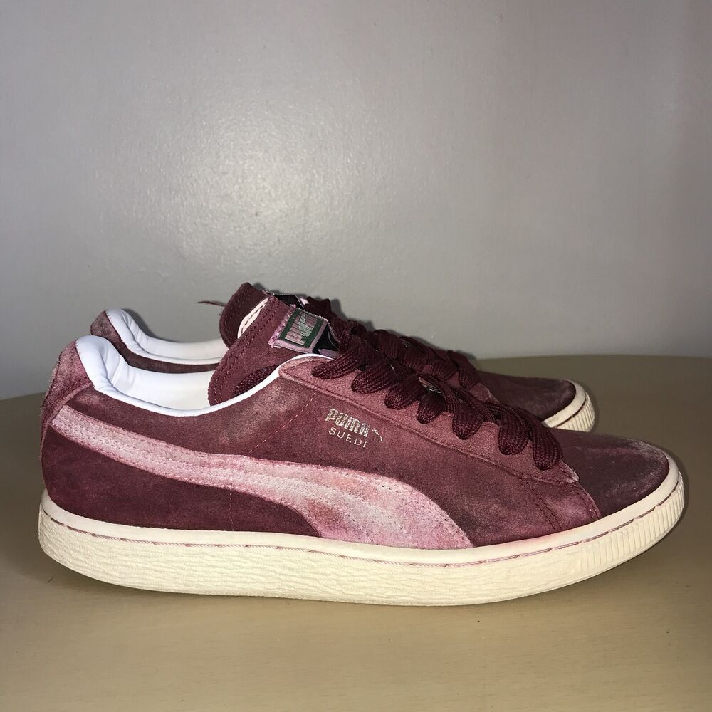 quality design 663d4 c452b Puma Suede Trainers Size 5 Burgundy/Dark Red 4486530602611 | eBay