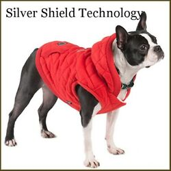 NWT SILVER PAW  Fleece/Quilted Hoodie High Tech Winter Coat Jacket  S M L XL