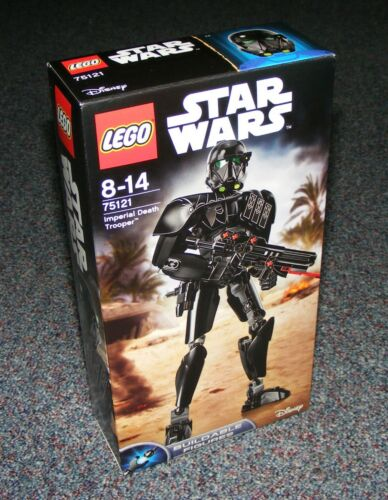STAR WARS LEGO 75121 IMPERIAL DEATH TROOPER BUILDABLE FIGURE BRAND NEW SEALED