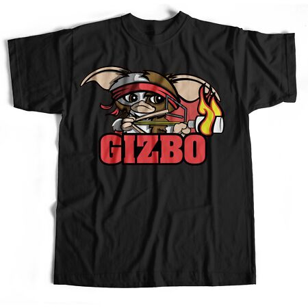 img-Gremlins Rambo Gizmo Film Movie Funny Retro Classic Sci Fi Horror T Shirt
