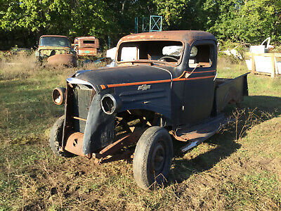1937 Chevrolet Pickup Truck Hot 1/2 Ton Rat Rod Restoration Original Chevy LOOK