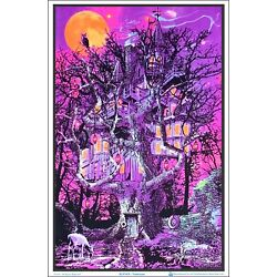 Kyпить Treehouse Blacklight Poster 23 x 35 на еВаy.соm