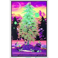 Kyпить Weed Gnomes Blacklight Poster 23 x 35 на еВаy.соm