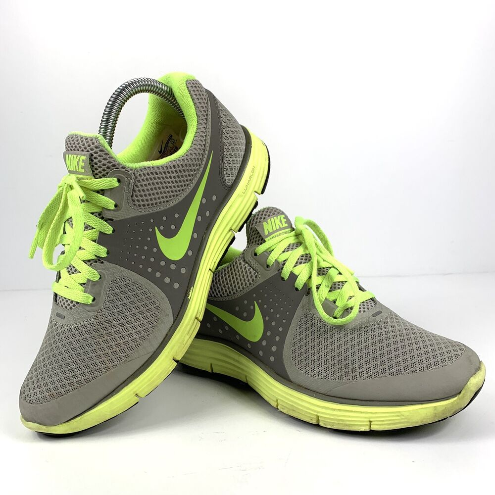 new styles 5a18f a6e5b Details about NIKE LUNARSWIFT SZ 6.5 granite volt charcoal Running SHOES  Women