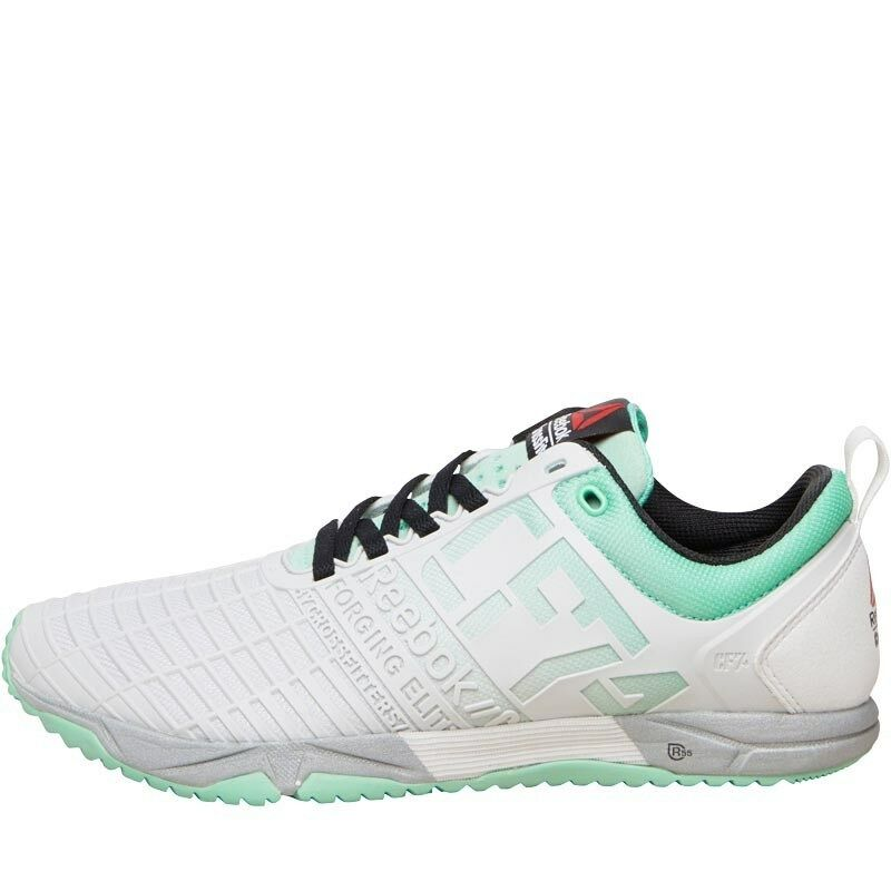 ca423ed5f9 Details about REEBOK WOMENS CROSSFIT SPRINT TR TRAINING SHOES -  WHITE/MINT/BLACK - SIZE 2.5