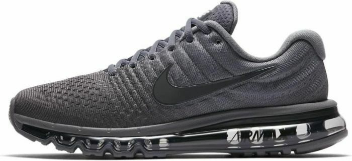 5b46b3d3d5aed Details about Mens Nike Air Max 2017 Athletic Running Shoes 849559-008 Cool  Grey/Anthracite-Gr