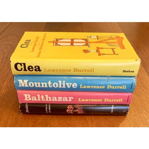 lawrence-durrell-justine-balthazar-cleo-mountolive-early-editions