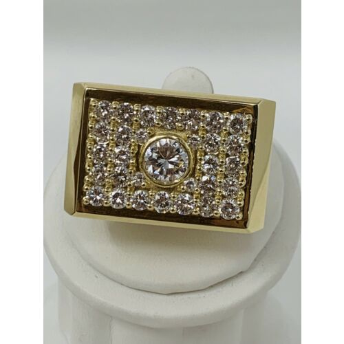 mens-diamond-ring-550-tcw-yellow-gold-14k-solid-wide-