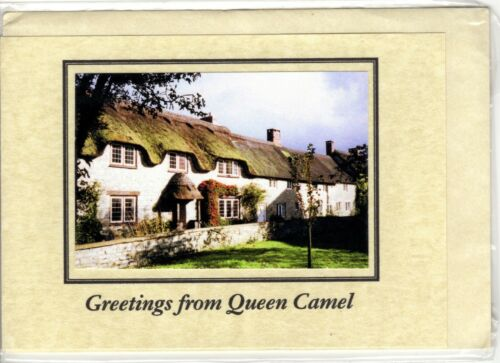 828 New item, sealed, greeting card from Queen Camel