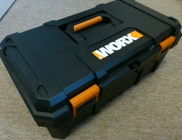 WORX large toolbox with toolkit. Fits various tools wx800 WX386 Wx290 hydroshot