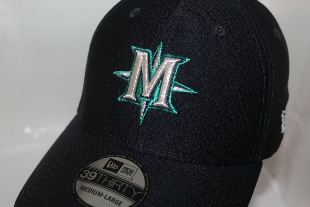 separation shoes 1ef96 a8301 Details about Seattle Mariners New Era MLB 2019 Hex Tech Spring Training  39Thirty,Hat,Cap