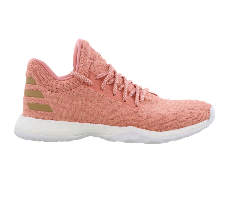 new concept b2a07 bd3ac Details about Mens ADIDAS HARDEN VOL 1 LS PK Pink Trainers CG5108
