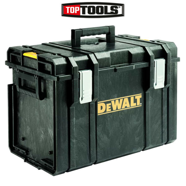 DeWalt DS400 Stackable Tool Box for Power Tools & Hand Tools Without Tote Tray