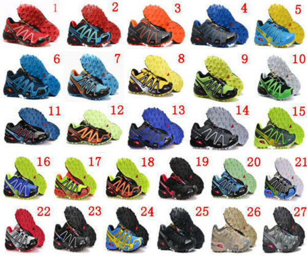 Salomon Speedcross Vario 3 Homme Trail Chaussures De Course Baskets Escarpi
