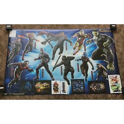 Original FATHEAD Avengers: Endgame Character Collection 96-96265 NEW