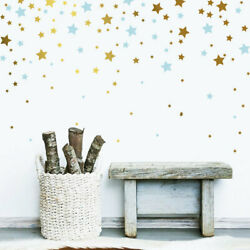 Star Wall Decals,Vinyl Wall Decals, 2 Color Star Decals, Nursery Wall Decal ga38