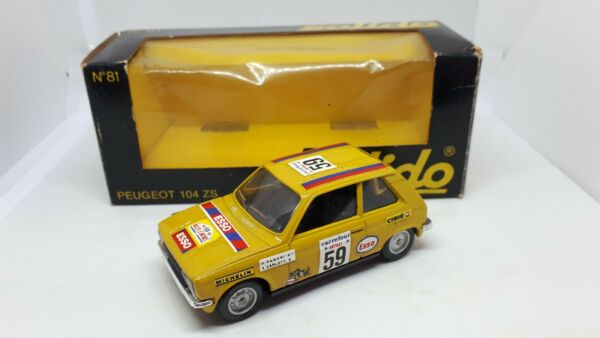 PEUGEOT 104 ZS N.81 SOLIDO SCALA 1:43