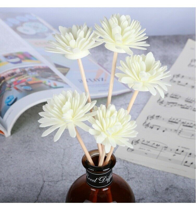 5 Pcs Flower Fragrance Diffuser Replacement Rattan Reed