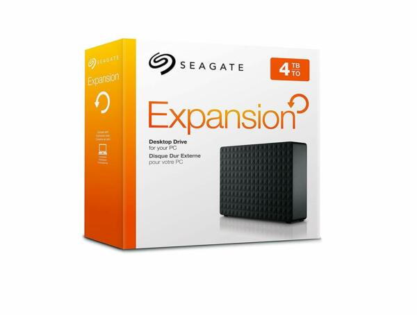 HARD DISK ESTERNO 3,5 USB 3.0 4000GB 4TB SEAGATE EXPANSION STEB4000200