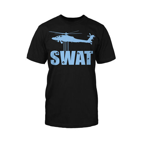 img-Swat T-Shirt Fun War Military Armee Gun Polizei Police Gamer Game Gaming Games