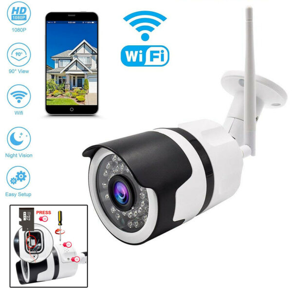 PDR*TELECAMERA IP CAMERA HD WIRELESS LED IRINFRAROSSI IPCAM TF 36 LED ESTERNO