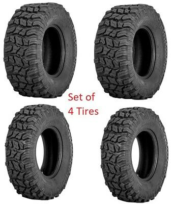 Sedona Coyote Tire Set of 4 Tires ( 2 ) 27x11-12 ( 2 ) 27x9-12 ATV UTV 6 ply