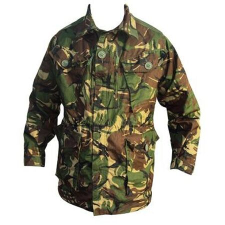 img-DPM FIELD RIPSTOP JACKET - BRITISH ARMY - USED - DPM CAMO - Medium 38