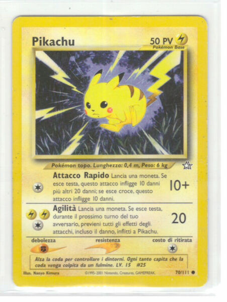 POKEMON Lotto 9x Carte Energia Base LAMPO Comune  ITA