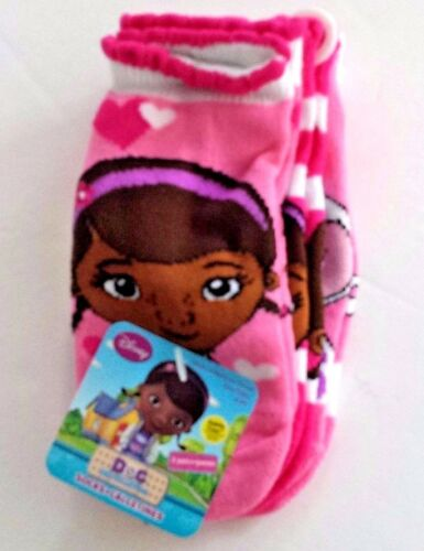 Doc McStuffins 3 pack no-slip safety toe socks size 18-24 mos or 3T-5T new