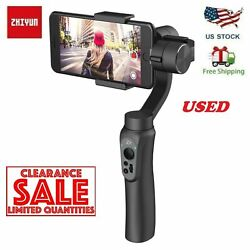 Kyпить USED Zhiyun Smooth-Q Handheld Gimbal Stalilizer for Smartphone iPhone Android  на еВаy.соm