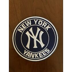 New York Yankees Team Embroidered 4  Iron-On Patch