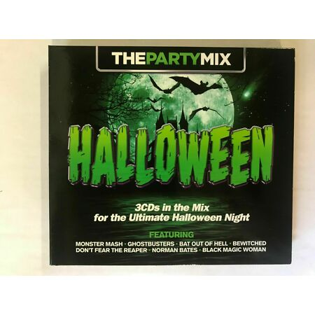 img-The Party Mix Halloween:CD Monster Mash/Ghostbusters/.. New *UNSEALED* BW19