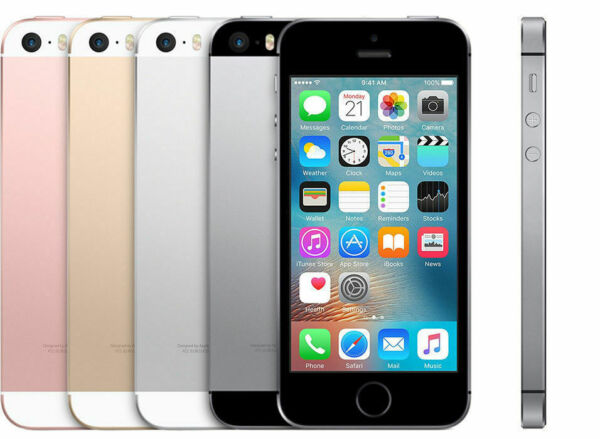 Apple iPhone SE 16Go 32Go 64Go 128Go SmartPhone Mobile Argent Gris Rose Or NEW