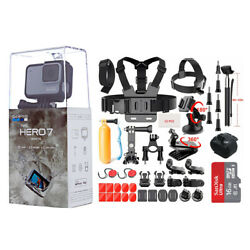 Kyпить NEW SEALED GoPro HERO7 White HD Waterproof Action Camera CHDHB601 Sports Bundle на еВаy.соm