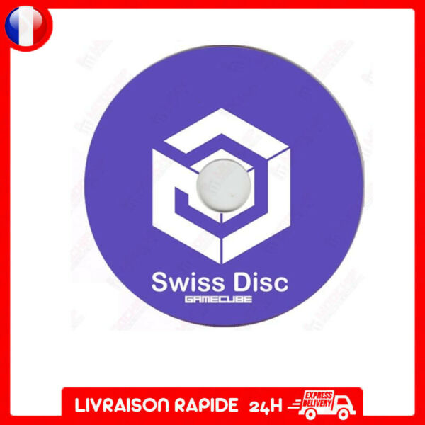 cd boot Disc iso Swiss adaptateur carte sd media launcher