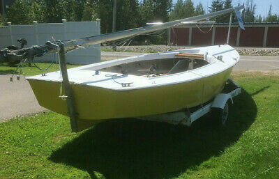1971 Lightning Sailboat with Trailer Conway, MI   No Fees & No Reserve