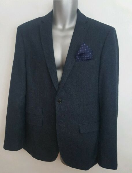 Next Mens Tailoring Tailored Fit Jacket 40R
