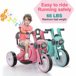 Kyпить Electric Motorcycle Kids Ride On 6V Battery Powered 3-Wheel Toy Car Pink & Blue на еВаy.соm