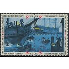 Scott 1480-83- Boston Tea Party, Bicentennial- Block of 4- MNH 8c 1973- unused
