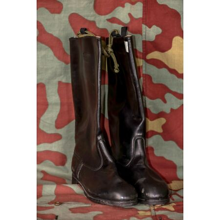 img-Boots by Marcia Officer German Nva German Leather Boots East Germany Officer