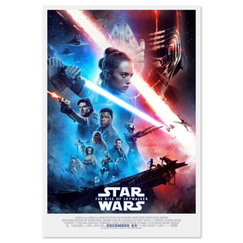 Star Wars: The Rise of Skywalker Poster - Official Art - High Quality
