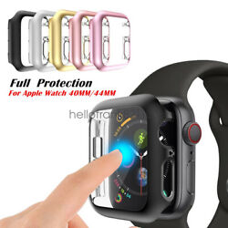iWatch 40/44mm Screen Protector Case Snap On Cover for Apple Watch Series 6 5 4