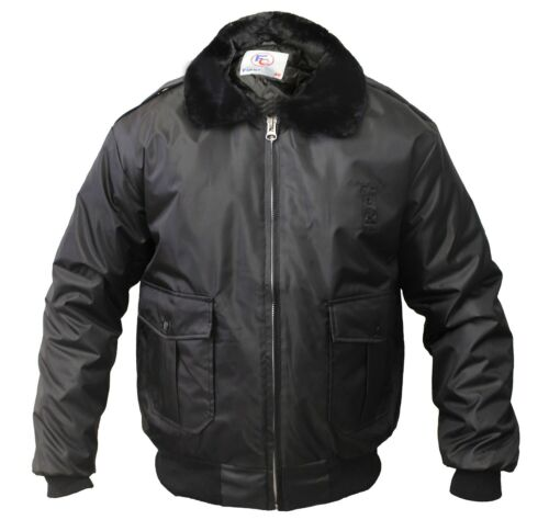 Watch-Guard Bomber Jacket (Black)