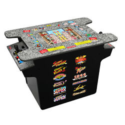 Kyпить Arcade1Up - Deluxe 12-in-1 Head to Head Cocktail Table with Split Screen Street  на еВаy.соm
