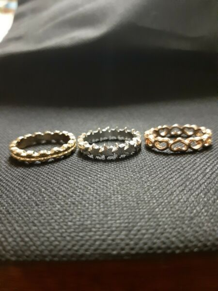 Avon Florrie Gift Set 3 Stackable Rings Stocking filler gift for her. Large size