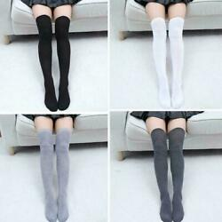 New Classified  Black Vertical Stripe Hold Up Stockings With Polka Dot Bow
